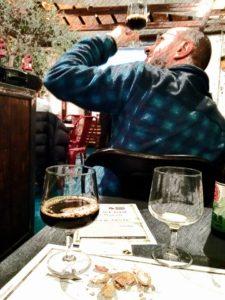 Degustazione birra durante corso UDB