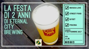 2 anni di Eternal City Brewing